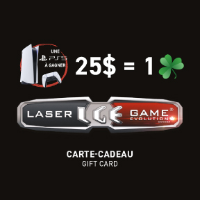 Laser game evolution carte cadeau